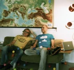 Oprichters Wouter de Boer en Ruben Timmerman