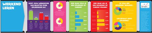 Infographic opleidingen en werk